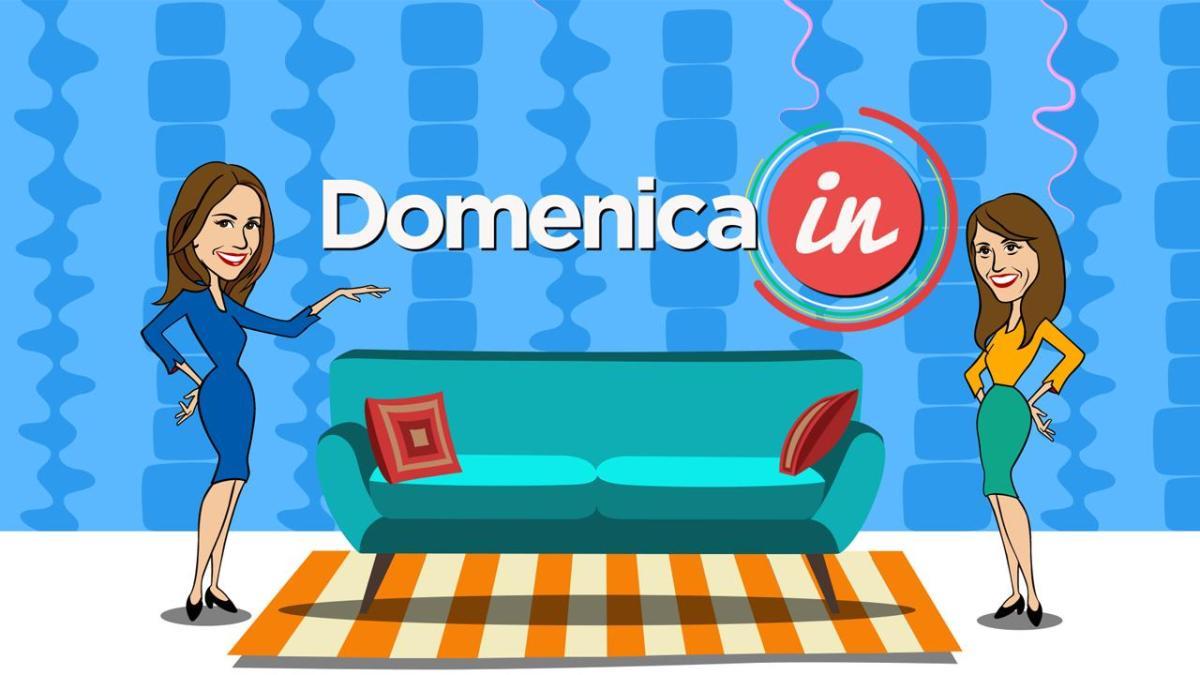 A Domenica In ospiti Dori Ghezzi, Nathalie Guetta, Lino Guanciale, Claudio Gioè, Francesco Scianna, Barbara Bouchet