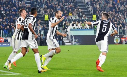Soccer: Champions League; Juventus-Sporting Lisbon