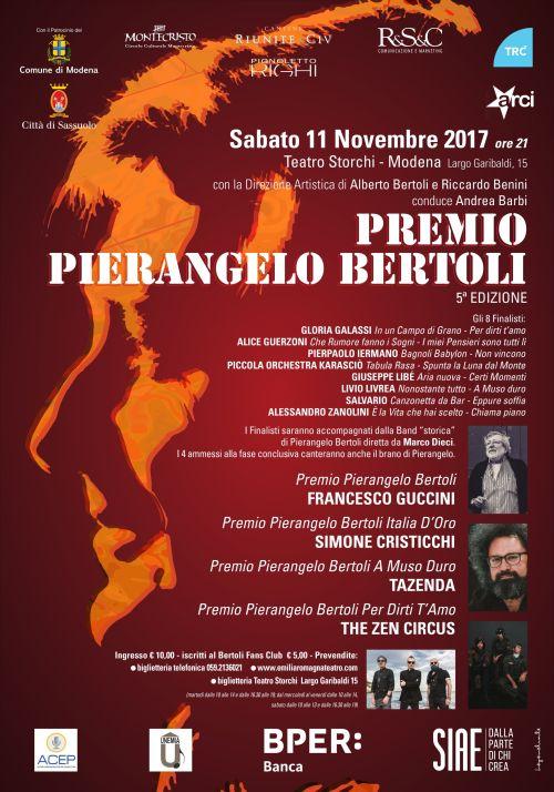 Manifesto 70x100 Premio Pierangelo Bertoli 2017_ b