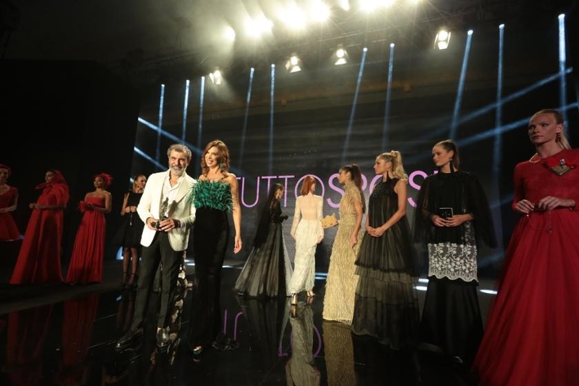 Michele Miglionico, Veronica Maya e le modelle