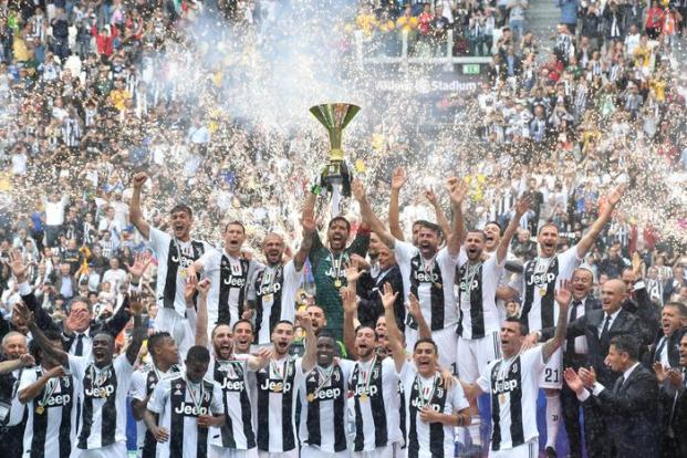 Soccer: Serie A; Juventus FC-Hellas Verona