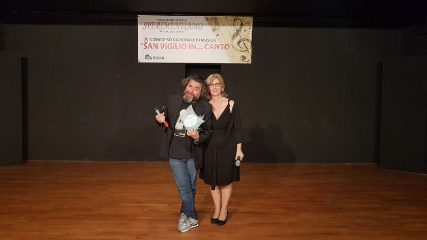 Loredana Ripepi con Gigi Miseferi