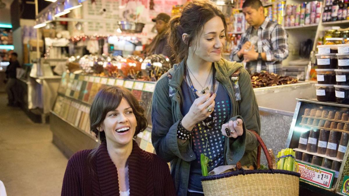 """Questa sera su Rai 1 in prima visione va in onda """"Qualcosa di buono"""", film conHilary Swank e Emmy Rossum"""
