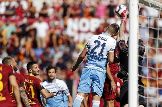 Soccer: Serie A; Roma vs Lazio