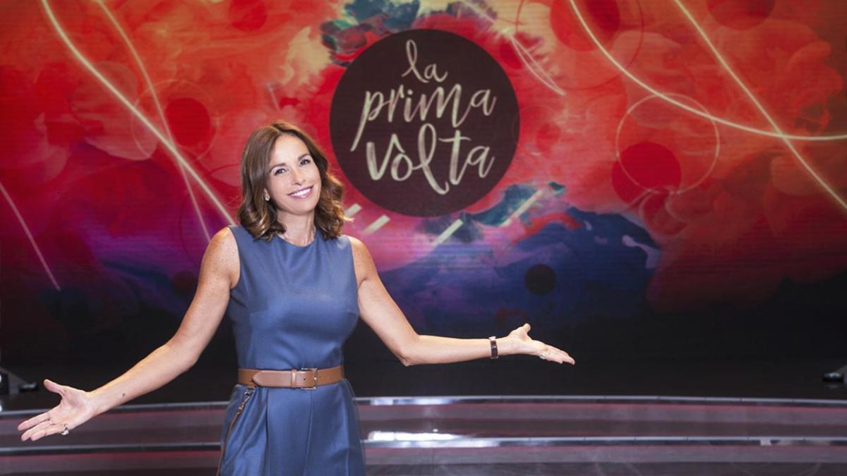 """Domenica 21 ottobre Cristina Parodi conduce su Rai 1 alle 17.35il quinto appuntamento de """"La prima volta"""""""