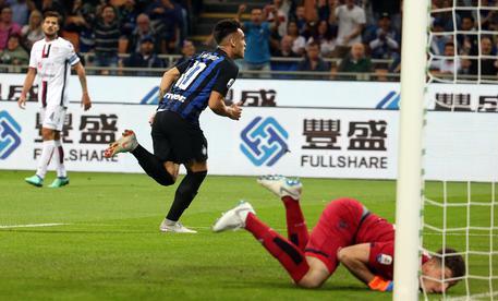 Soccer: Serie A; Inter-Cagliari