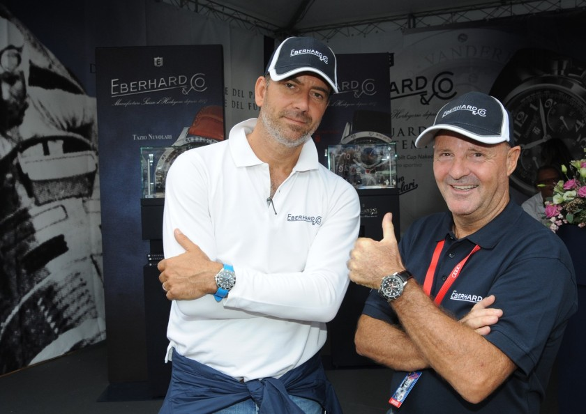 Miki Biasion e Mario Peserico al GP Nuvolari 1