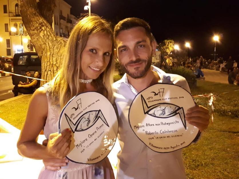 Sasha Alessandra Carlesi e Roberto Calabrese