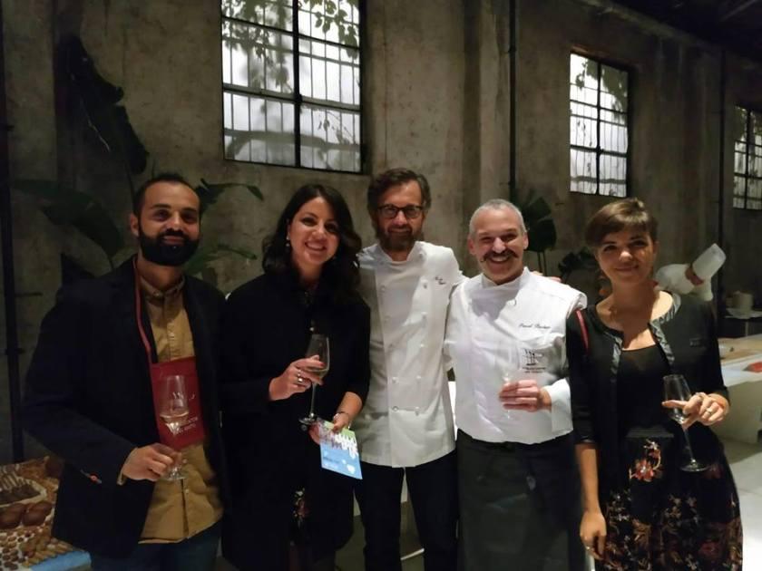 Pascal Barbato, Carlo Cracco e i designers di DDuMstudio