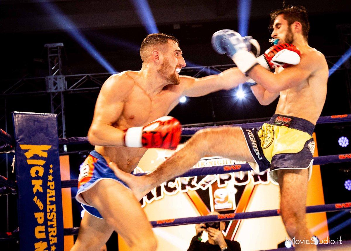 Tutto esaurito al centro sportivo Vismara di Milano, sabato 15 dicembre, per la nona edizione di The Night of Kick and Punch