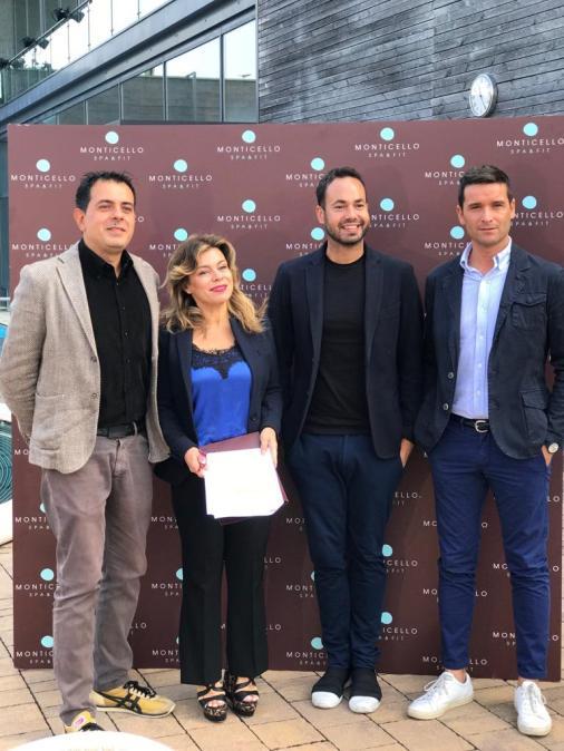 Christian D'Antonio, Lorella Ridenti, Damiano Gallo e Andrea Marcotti
