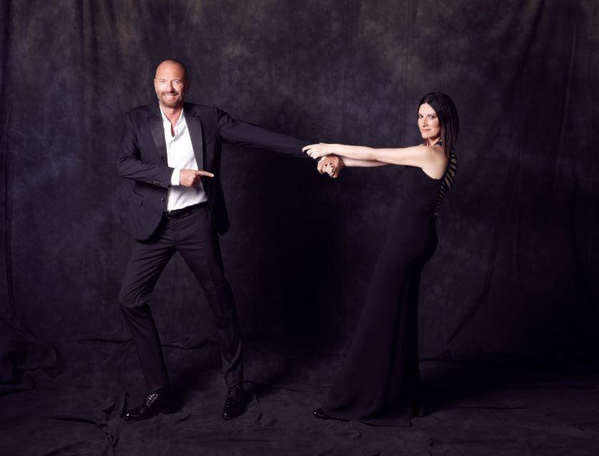 Laura Pausini e Biagio Antonacci_foto di Cosimo Buccolieri (3)