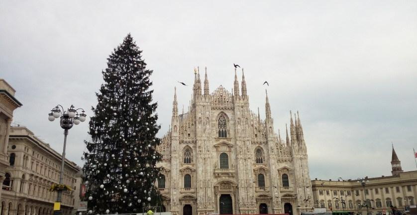 Albero Di Natale Milano.Il Grande Albero Di Natale In Piazza Duomo A Milano Quest Anno