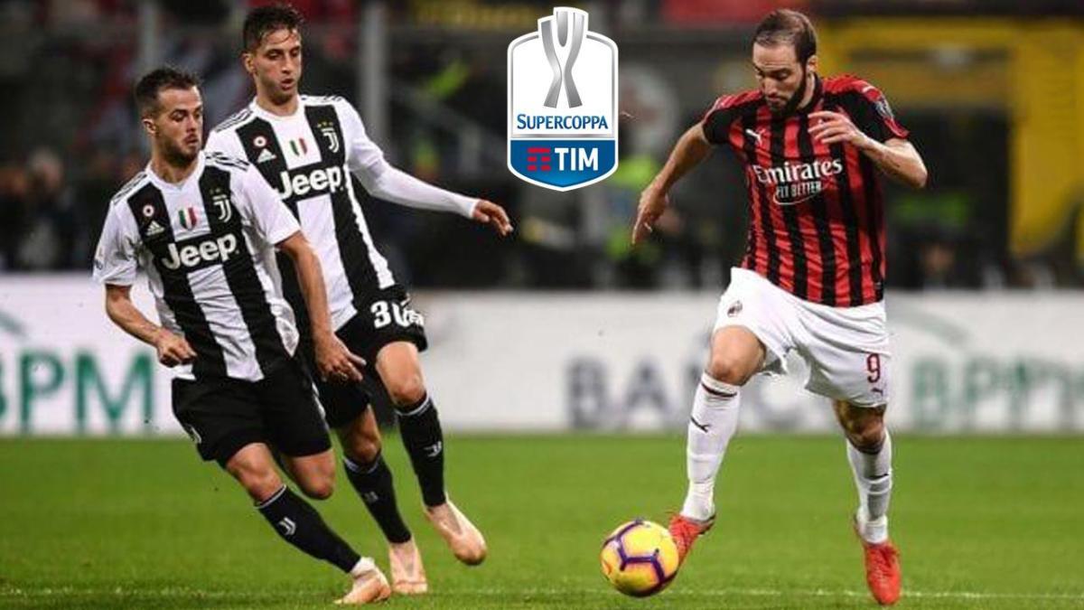SUPERCOPPA ITALIANA: Programmazione speciale sulle reti Rai prima della sfida Juventus-Milan