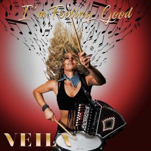 COVER I'M FEELING GOOD - VEILA