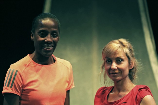 Fiona May e Luisa Cattaneo - Maratona di New York_Rid