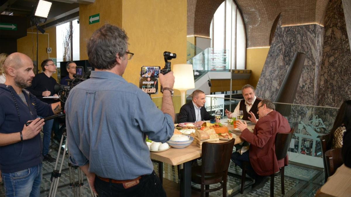 In viaggio con Marcello sabato 20 aprile alle 10,15 su Rai 2: Come è cambiata la cucina della Capitale e del Lazio