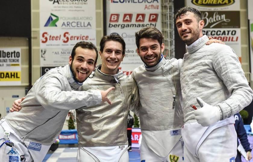 ITALIA_Squadra_Sciabola_maschile_ATENE2019