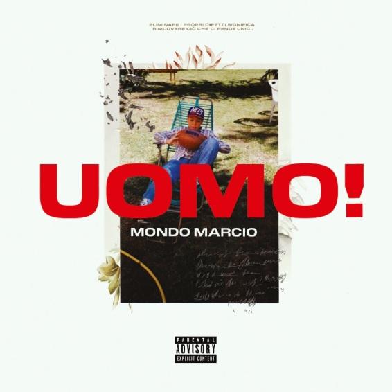 MONDO MARCIO_cover Uomo! (artwork Corrado Grilli)