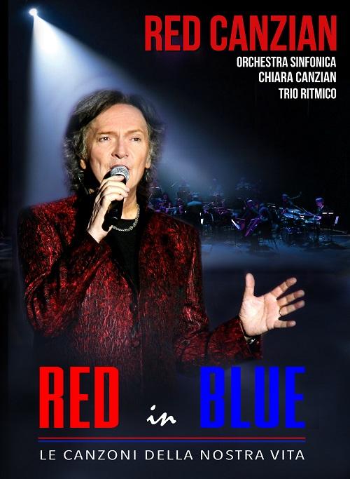 COPERTINA DVD RED IN BLUE