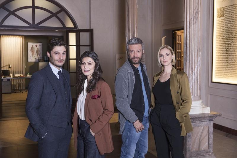 """""""L'Allieva 3""""con Alessandra Mastronardi e con Lino Guanciale"""
