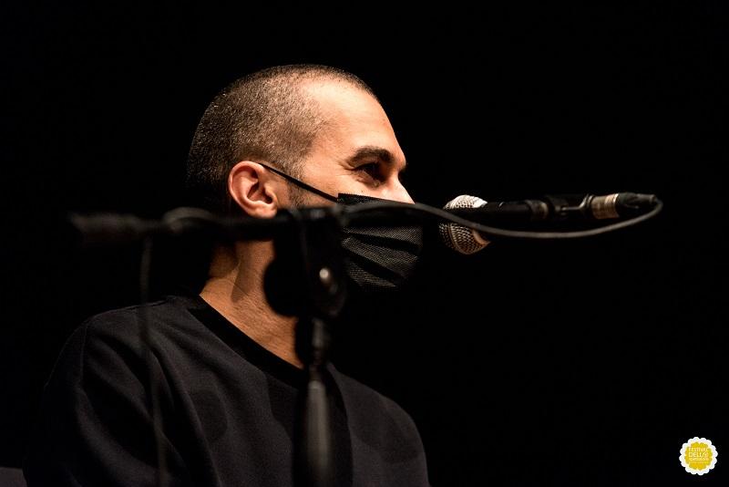 """Il regista Omar Rashid - Incontro dopo """"Segnale d'allarme - La mia battaglia in VR""""_Ph Mara Giammattei"""