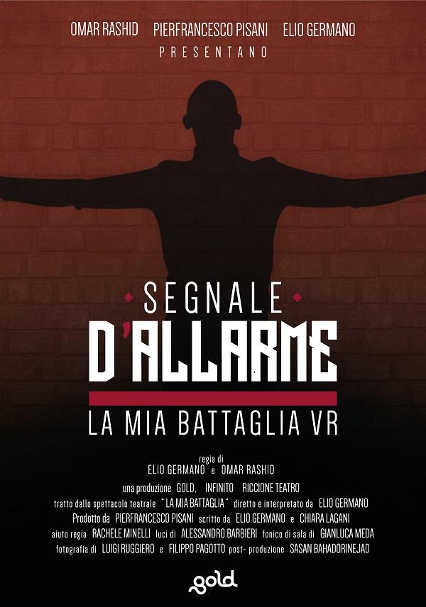 """Locandina """"Segnali d'allarme - La mia battaglia VR"""""""