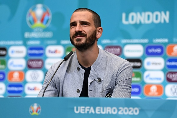 Italy Walk About and Press Conference - UEFA Euro 2020: Round of 16