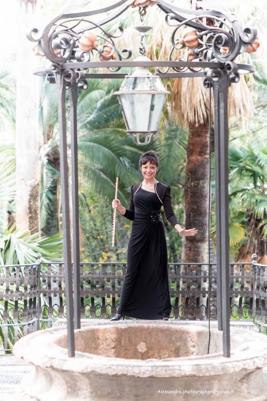 Giovanna Savino-Flautista e Direttrice di Musicamica