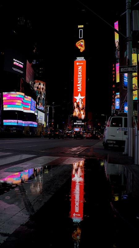 Maneskin_Spotify_Times Square