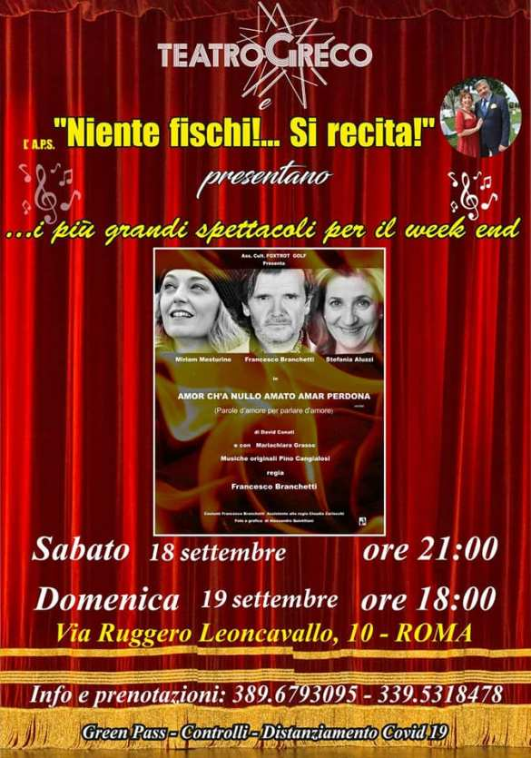 Locandina Teatro Greco